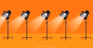 cameras in a row